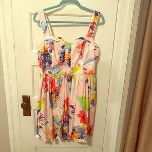 Trina Turk size 12 pink dress